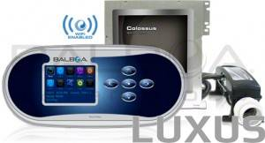 Balboa Colossus controlbox and panel - iPhone ja iPad application