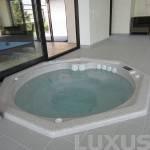 Luxus spabad OCTA 2100 x 950mm/1000l - Sierra Graniit
