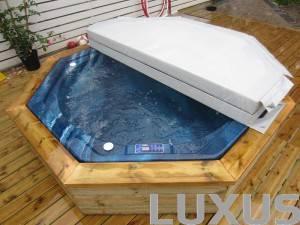 Luxus spabad i din trädgård, på terrassen, i bastu !