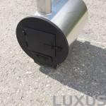 Luxus hottub round boiler
