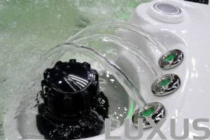 Luxus udendørs spa Atlantis 225 x 225 x 93cm Led fountains