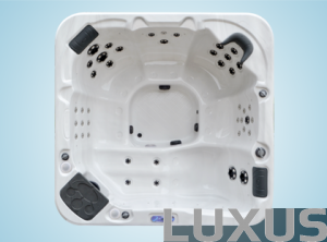 Luxus outdoorspa Meridian Lux