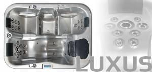 Wellis спа бассейн Ibiza 2000 x 1500 x 850mm/объем 700l/250кг