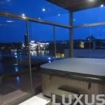 Luxus гидромассажные спа Greenland 2180 x 2180mm