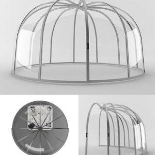 Minibasseini kuppelkate