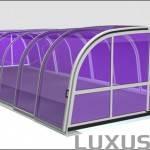 Ulkoallas lasikupolia - Relax / max mitat 7 x 12m