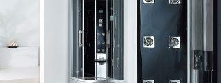 Luxus höyrysauna Senzo 1000 x 1000 x 2260mm/h