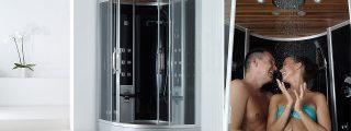 Luxus höyrysauna Senzo Maxi 1200 x 1200 x 2260mm/h