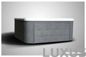 Uusi horizontal ulkoporeallas panelointi harmaa
